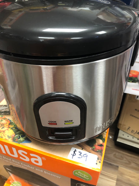 Stainless Steel Rice Cooker and Steamer