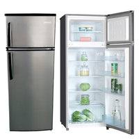 7.4 FT³ REFRIGERATOR SILVER, (Perfect for small Apartment)