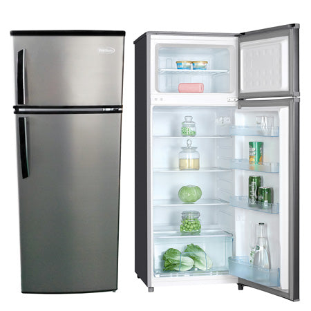 7.4 FT³ REFRIGERATOR SILVER, (Perfect for small Apartment ...