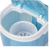 Portable Mini Washing Machine Spin Cycle W/ Basket, Drain