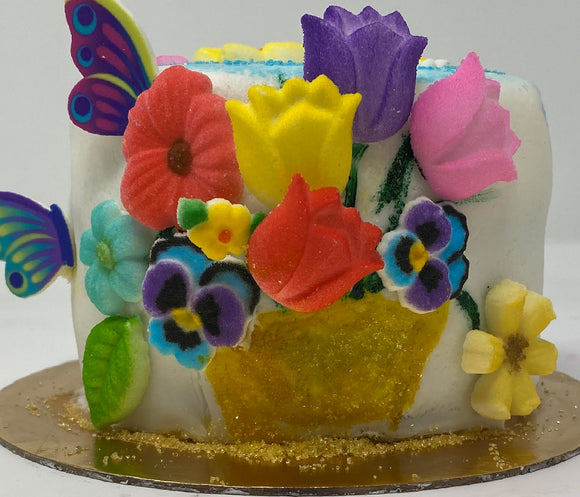 Floral Delight Sprinkle Surprise Cake Kit