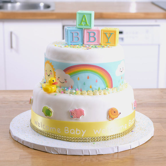Baby Safari Theme Cake Kit