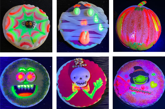 GLOW Cookie Kit - 6 Sugar Cookies