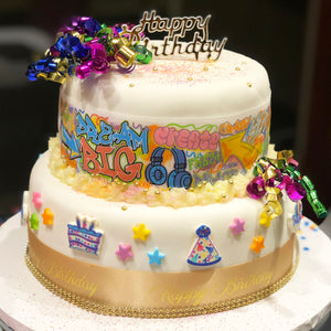 Graffiti Birthday Cake Kit