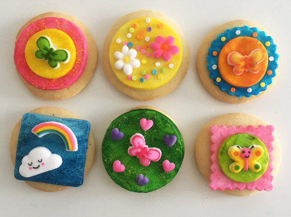 Groovin' Cookie Kit - 6 Sugar Cookies