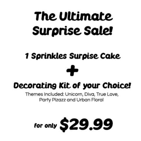 Ultimate Sprinkles Surprise Sale Offer!