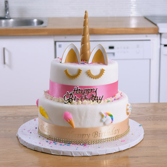 Unicorn Theme Cake Kit