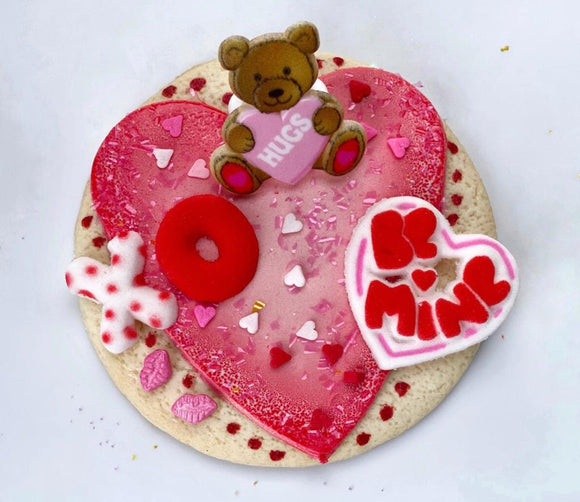 Valentine's Day Chocolate-y Cookie Kit