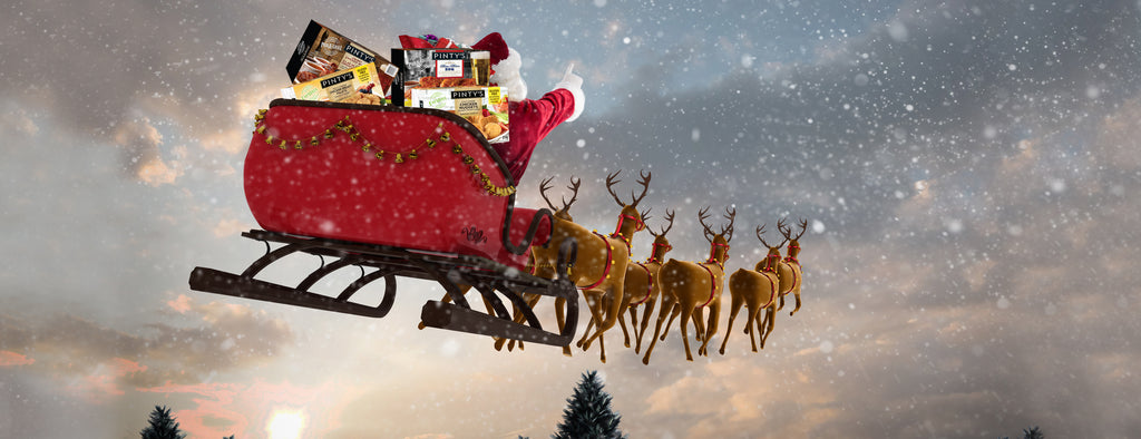 Hungry, Hungry Reindeer: What are Santa's Reindeer's Favourite Pinty's Products?