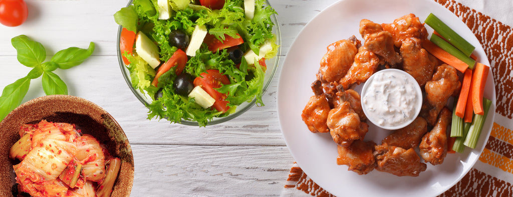 The Best Deserves the Best – Side Dishes for Chicken Wings
