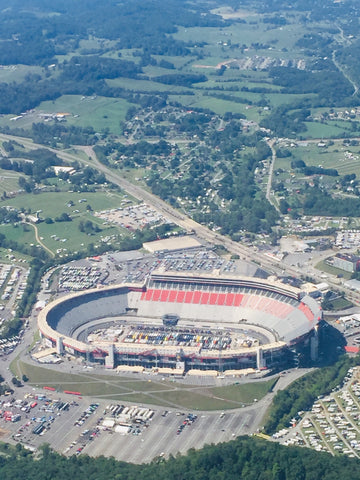 Pinty's Winner View of Bristol Motor Speedway