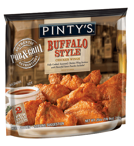 Pinty's P&G Buffalo Style Chicken Wings