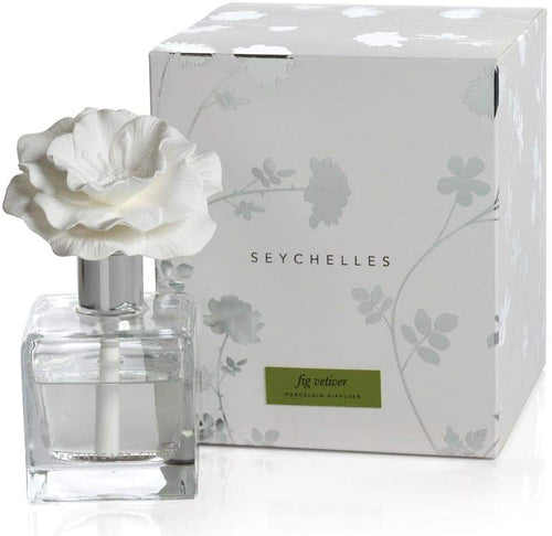Zodax FIG VETIVER Seychelles Porcelain Diffuser