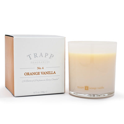 No. 4 Orange Vanilla Poured Candle