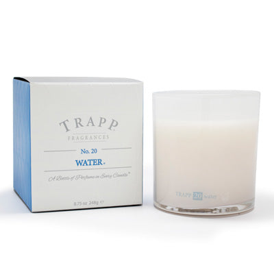 No. 20 Water Poured Candle
