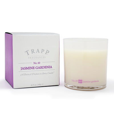 No. 60 Jasmine Gardenia Poured Candle
