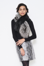 Furious Fur Two Tone Scarf