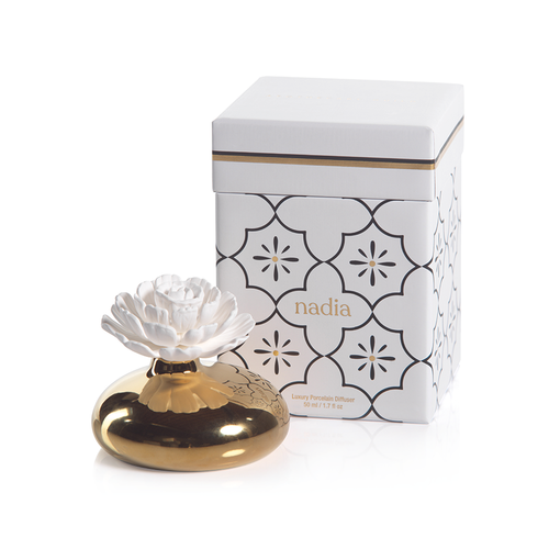 Zodax Moroccan Peony Porcelain Diffuser