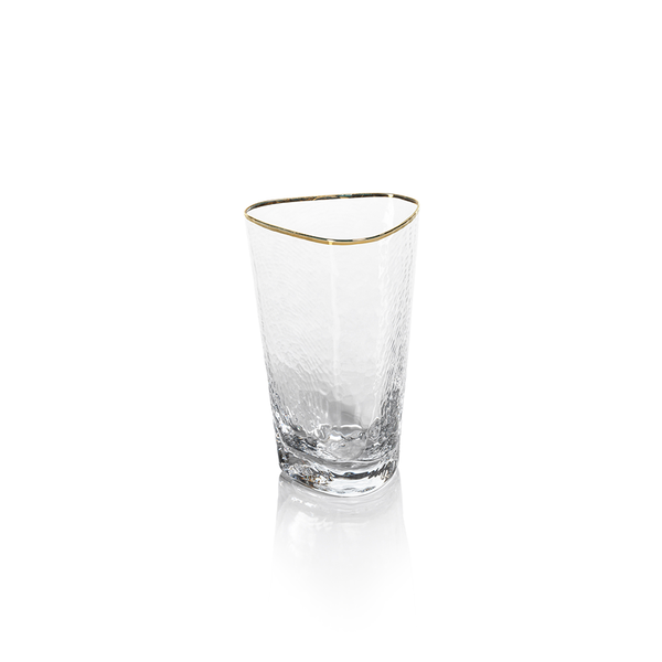 Zodax Apertivo Triangular High Ball Glass