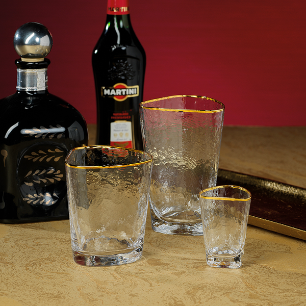 Zodax Apertivo Double Old Fashioned Glass