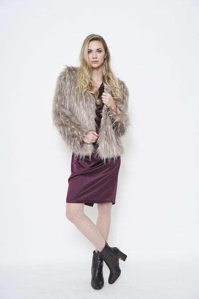 Furious Fur Spiky Feather Jacket