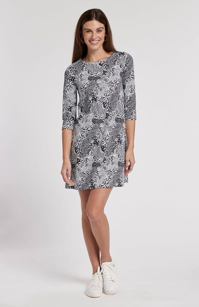 Tyler Boe Alexa Animal Print Dress