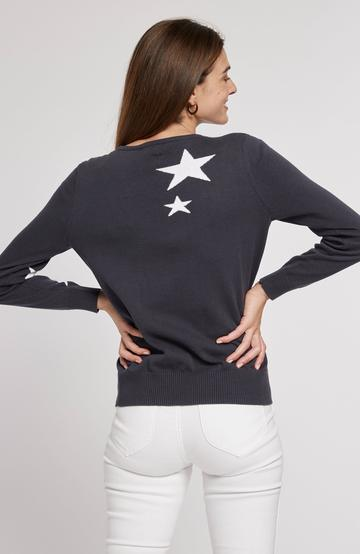 Tyler Boe Star Entarsia Sweater