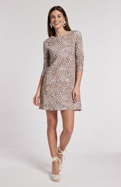 Tyler Boe Alexa Leopard Print Dress