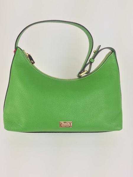 Laura Hobo Tumbled Leather - Green