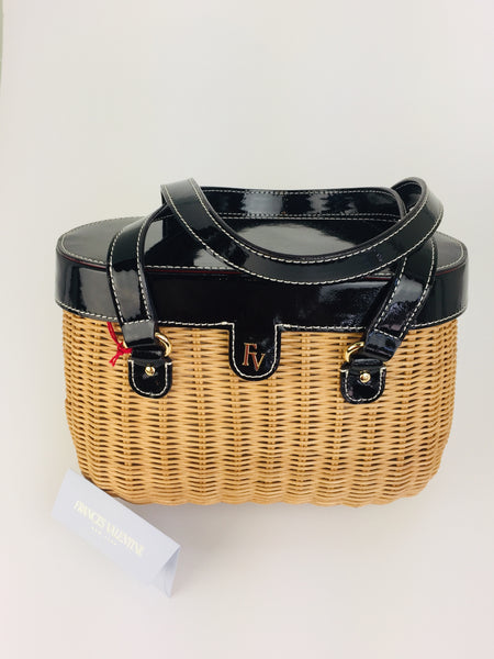 Arielle Wicker Basket Bag