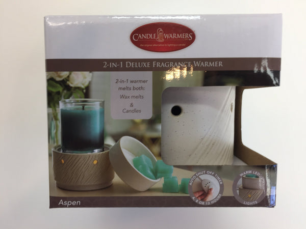 2-IN-1 Deluxe Fragrance Warmer-Aspen