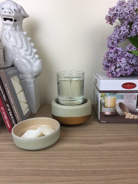 2-IN-1 Fragrance Warmer- Midas