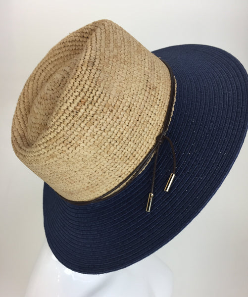 Wallaroo Laguna Raffia Paper Braid Hat