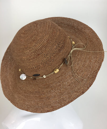 Natural Straw Fedora