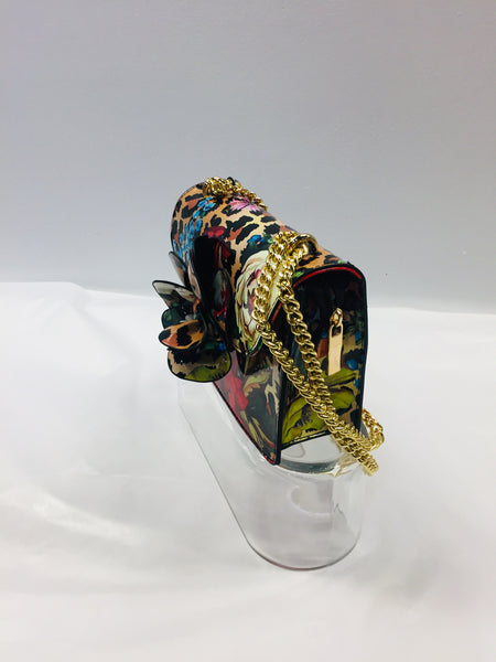 Shane Multi-Flower Shoulder Bag by Timmy Woods
