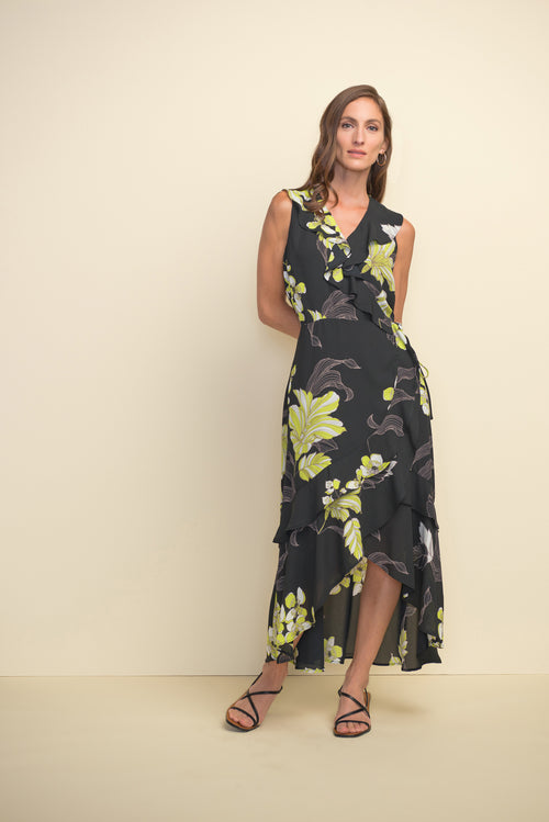 Ruffled Floral Dress - 211483