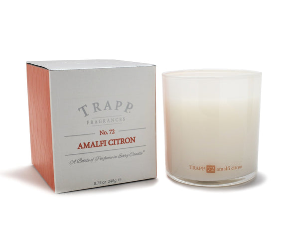 No. 72 Amalfi Citron Poured Candle