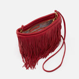 Hobo Wilder Scarlet Leather Bag