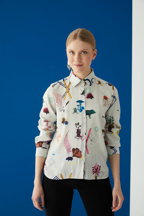 Vilagallo Isabella Quirky Polar Shirt
