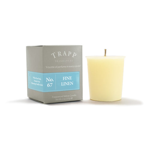No. 67 Fine Linen Votive Candle