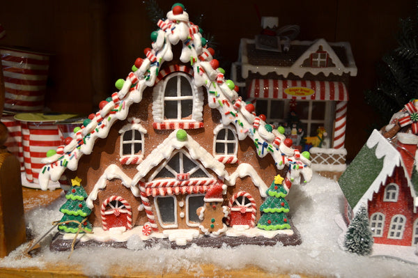 Gingerbread House Large Curved Rooftop