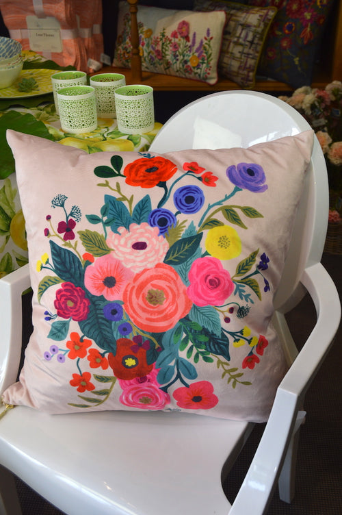 Pillow Flowers Galore