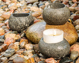 Rock Votive Holders