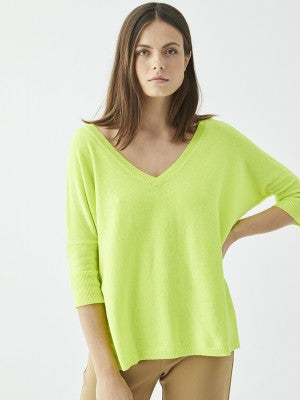 Vilagallo Sophia Yellow Fluorescent Top