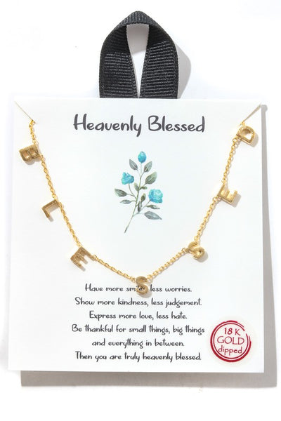 J01 BLESSED NECKLACE
