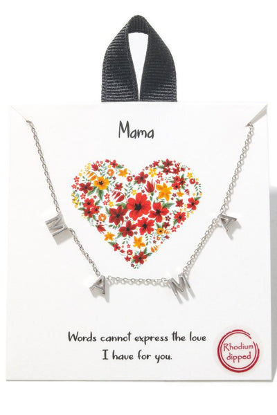 J01 MAMA NECKLACE