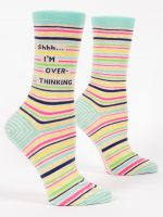 B01 SOCKS 524 SHH, I'M OVER THINKING