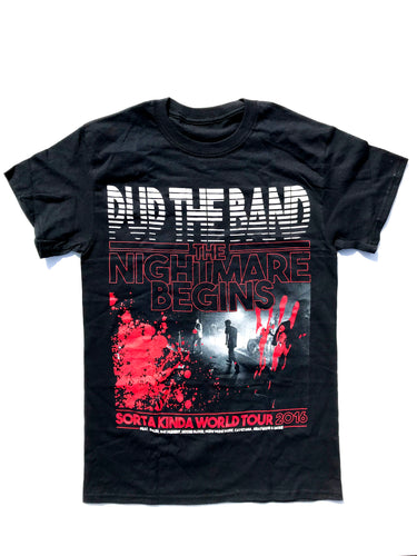 THE NIGHTMARE BEGINS TOUR SHIRT