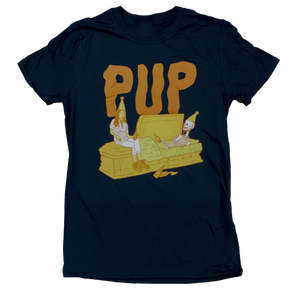 PUP SEE YOU AT THE FUNERAL: THE CARTOON T-SHIRT