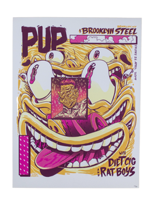 Pup Brooklyn Steel MORBID STUFF TOUR-POCALYPSE POSTER